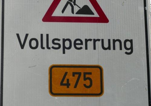 Bauarbeiten im Ortskern: Verlängerung Verkehrsführungsphase (innerorts)